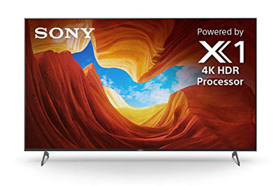 Sony X900H 75 Inch TV: 4K Ultra HD Smart LED TV with HDR, Game Mode for Gaming, and Alexa Compatibility - 2020 Model