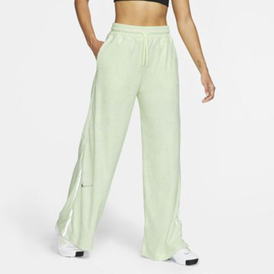 Nike green fleece training pants.