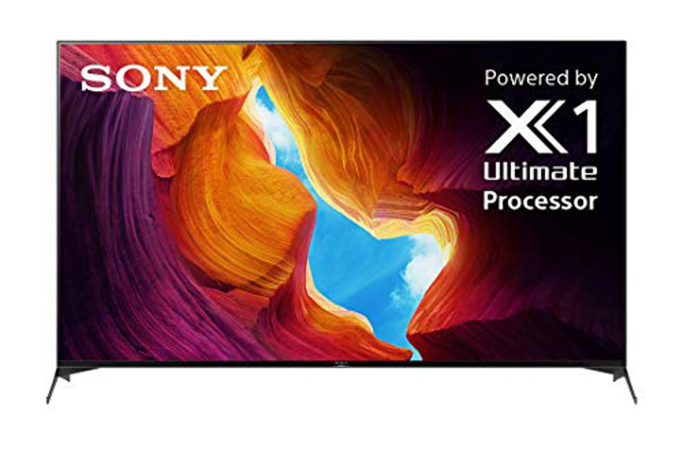 Sony X950H 75 Inch TV: 4K Ultra HD Smart LED TV with HDR and Alexa Compatibility - 2020 Model