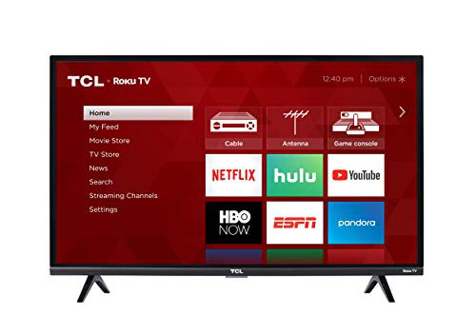 TCL 32S327 32-Inch 1080p ROKU Smart LED TV (2018 Model)