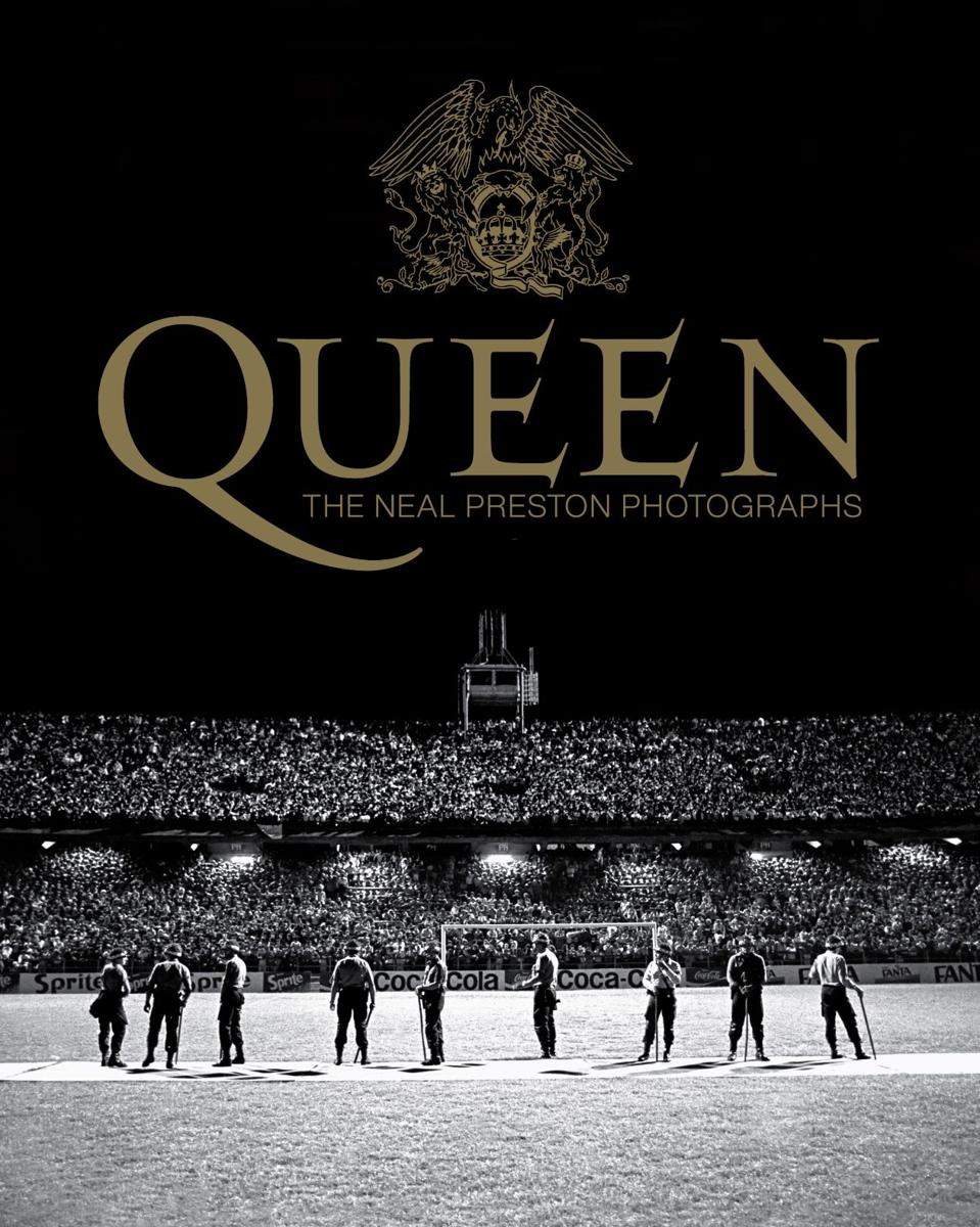 cover of 'Queen: The Neal Preston Photographs' by Neal Preston.