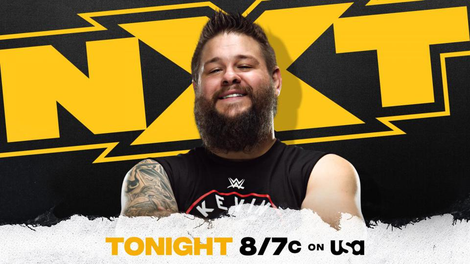 Kevin Owens joined WWE NXT on commentary.