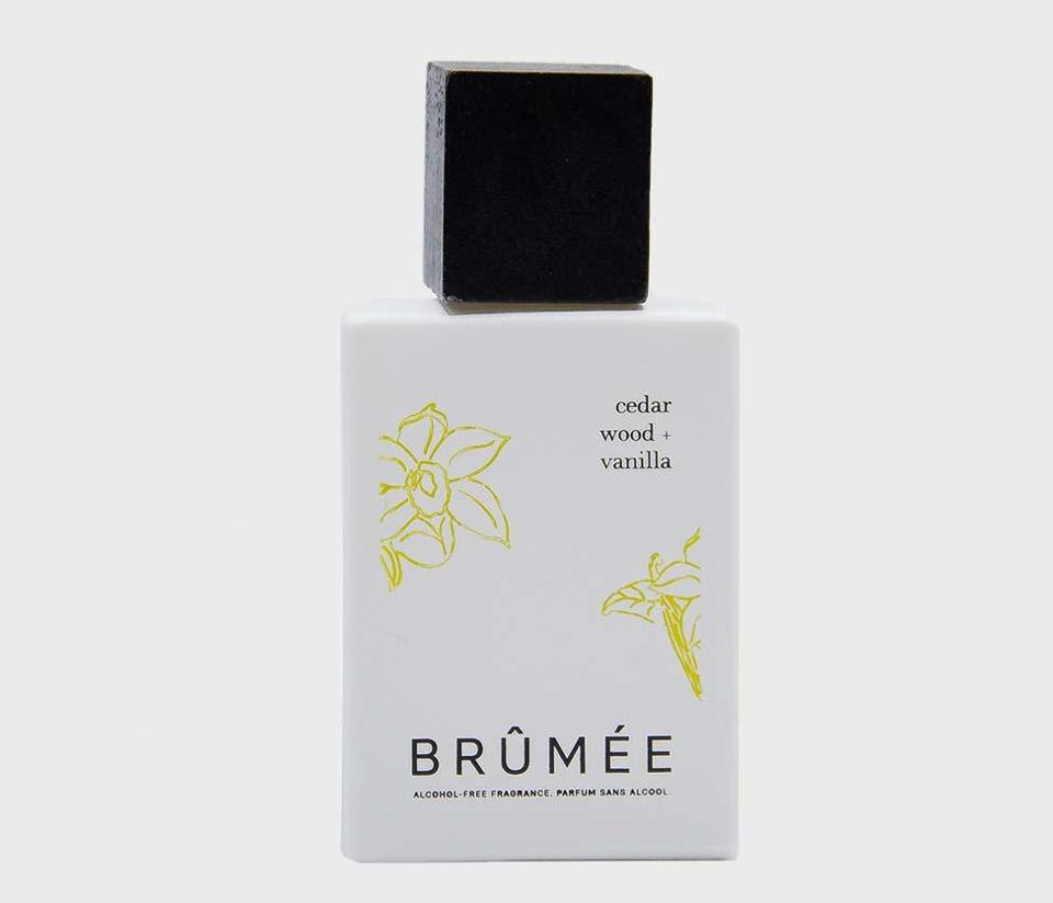 Brûmée Cedarwood + Vanilla Fragrance Dr. Anne-Claire Walch Grasse Perfume Alcohol Free