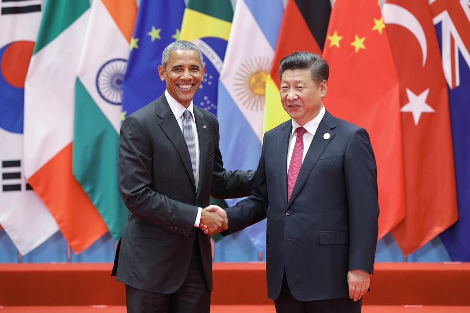 The 2016 G20 Summit in Hangzhou saw joint US-China leadership on the Paris Climate Agreement. Significant progress was made at the G20 against tax havens and climate change over this period.