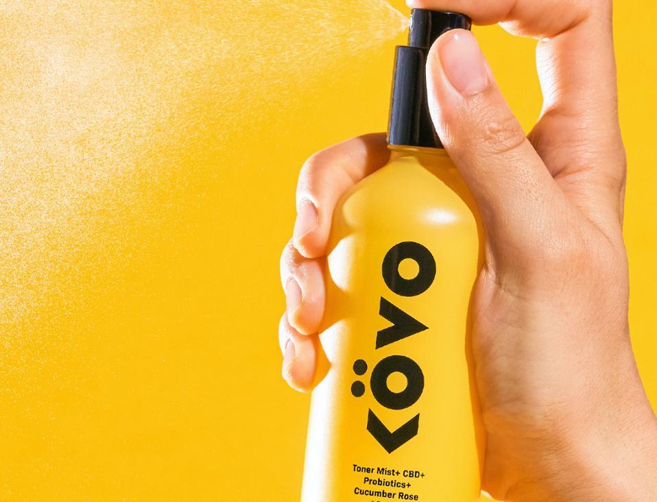 Kovo Essentials Hydrating Toner Mist CBD Probiotics Cucumber Rose