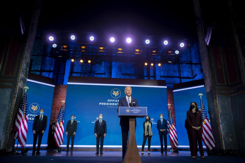 NOVEMBER 24: President-elect Joe Biden introduces key foreign policy and national security nominees who could take a lead in addressing issues in global shipping.