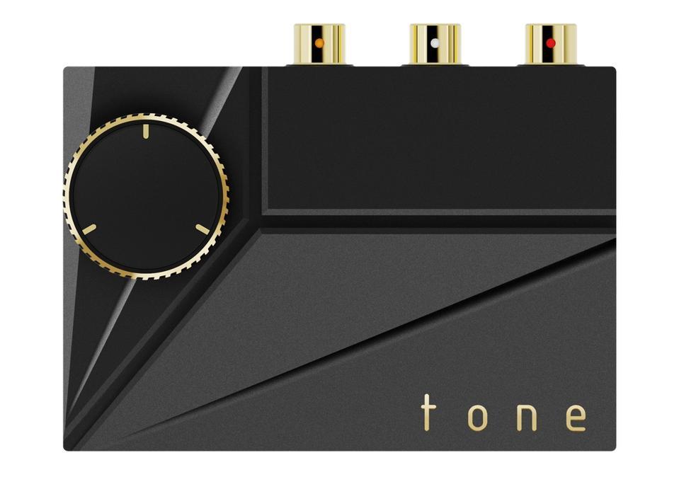 Overhead view of Khadas Tone 2 Pro DAC