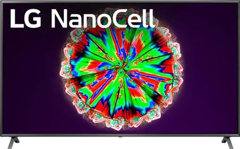 LG 75″ NanoCell 80 Series LED 4K webOS TV