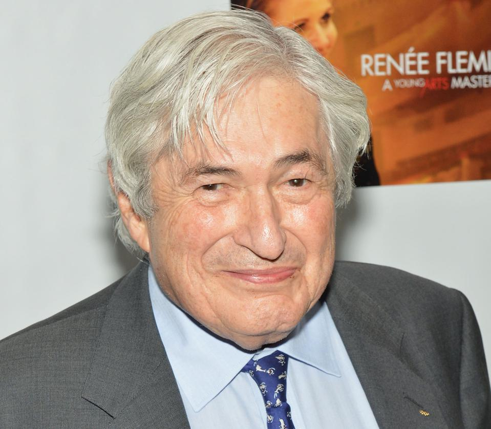 Former President of the World Bank James Wolfensohn