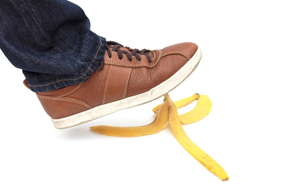 financial slip and fall