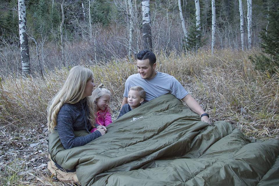 TETON dual sleeping bag