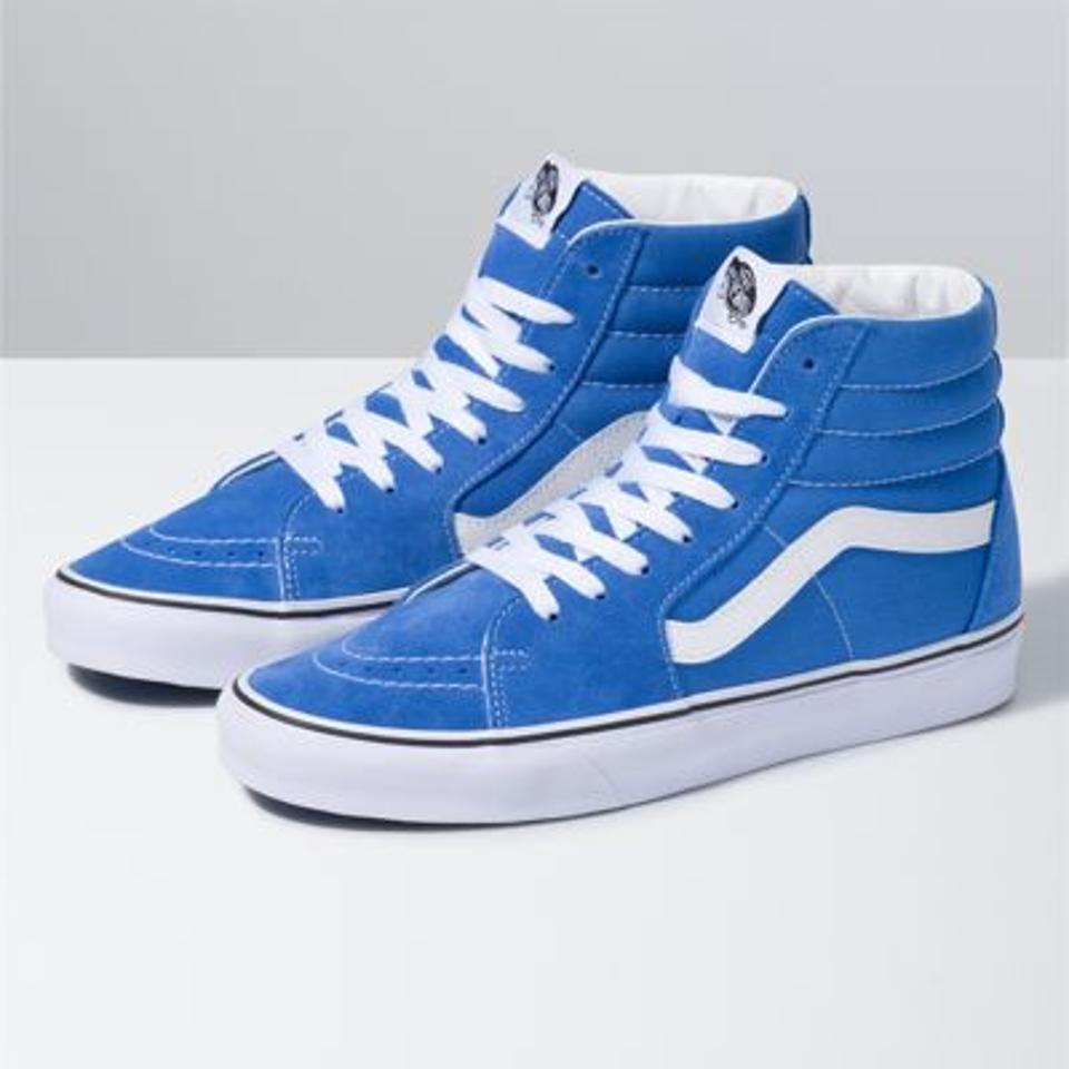 Blue Sk8-HI Sneaker.