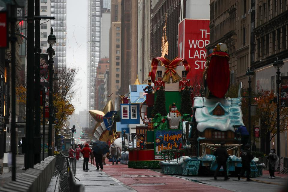 94th Annual Macy's Thanksgiving Day Parade...