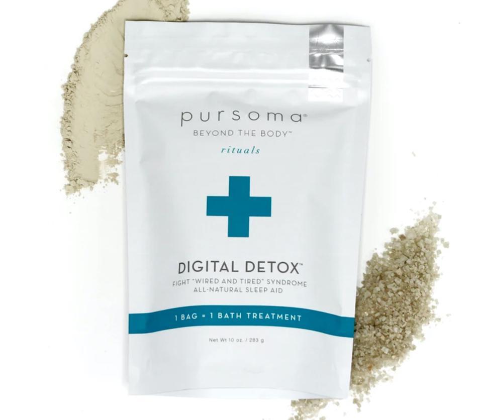 Pursoma bath soaks Digital Detox