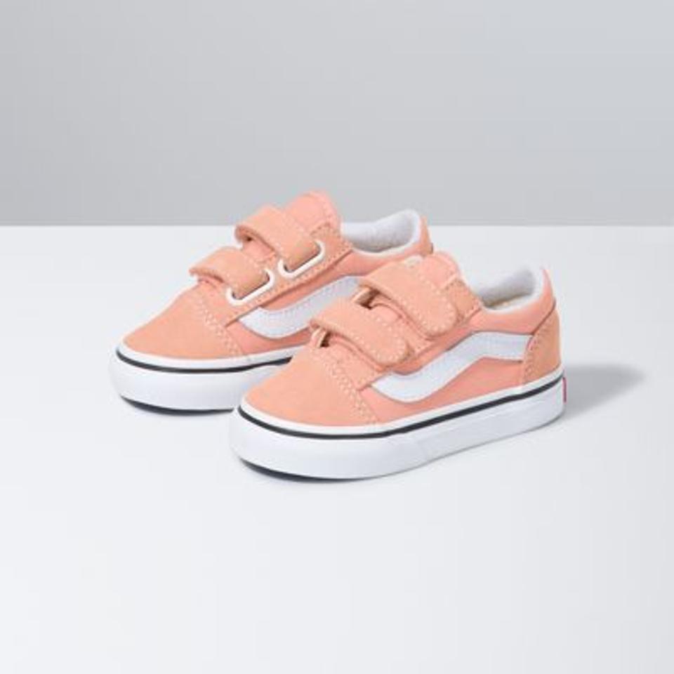 Pink toddler Vans.