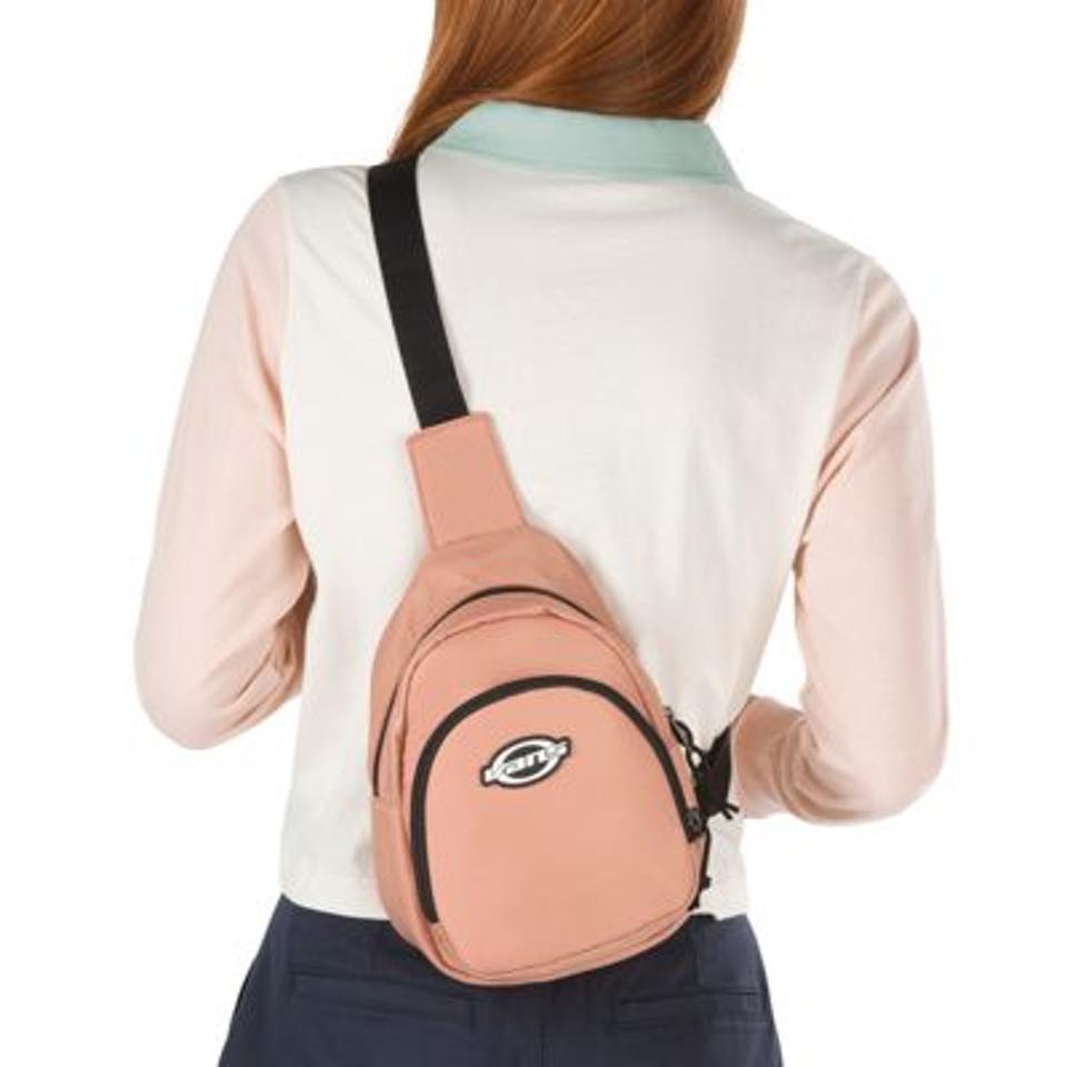 Light pink Vans sling bag.