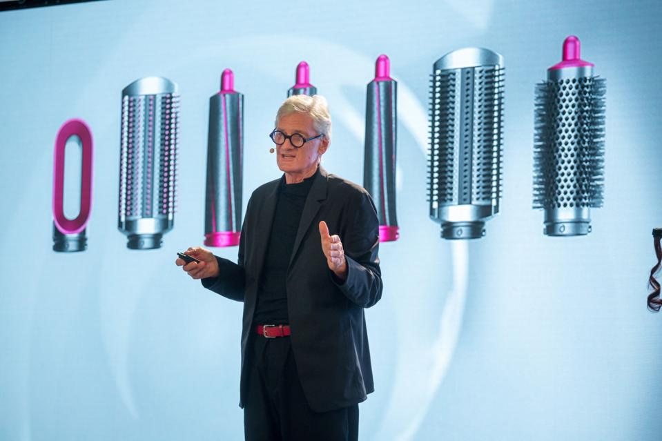 Dyson Holds Beauty Technology Launch Event