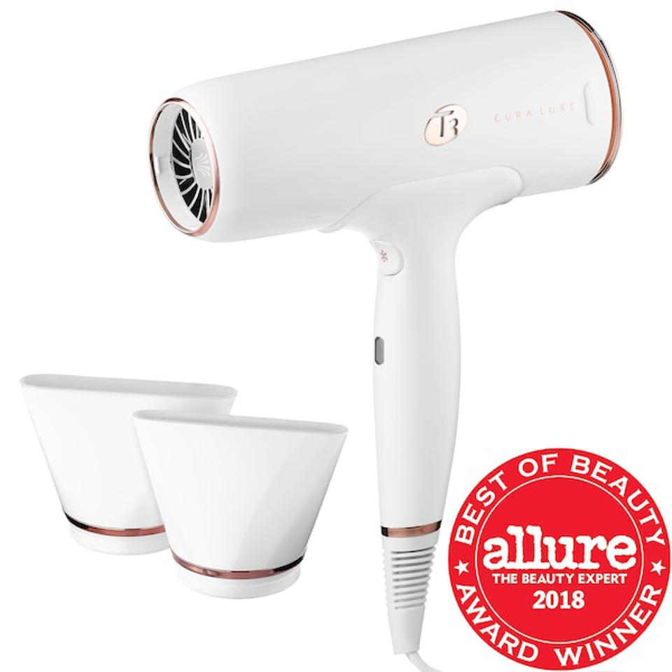 Cura Luxe Professional Ionic Hair Dryer with Auto Pause Sensor - T3