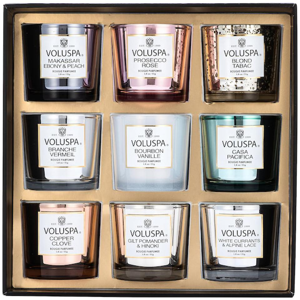 Nine Piece Votive Candle Set - VOLUSPA