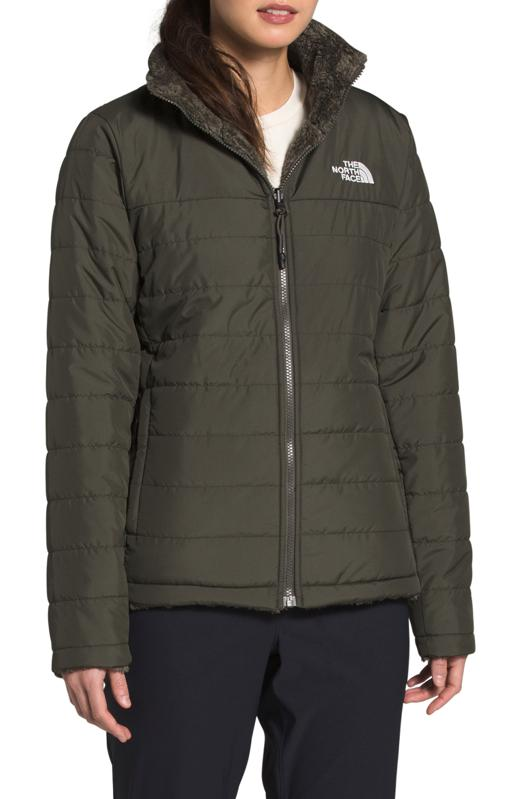 The North Face Mossbud Insulated Water Repellent Reversible Jacket