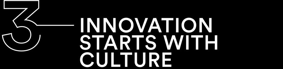 Innovation starts with culture
