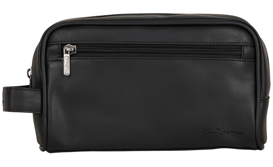Ben Sherman Mayfair Single Compartment Travel Dopp Kit