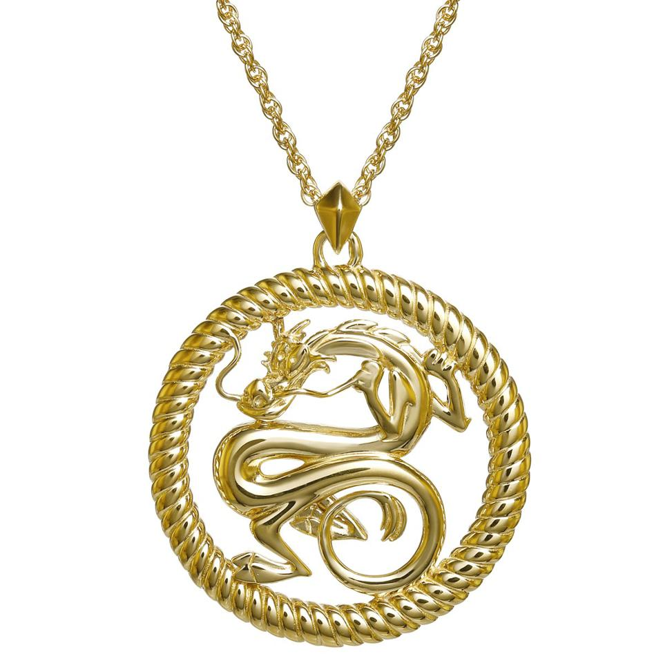 Mulan necklace