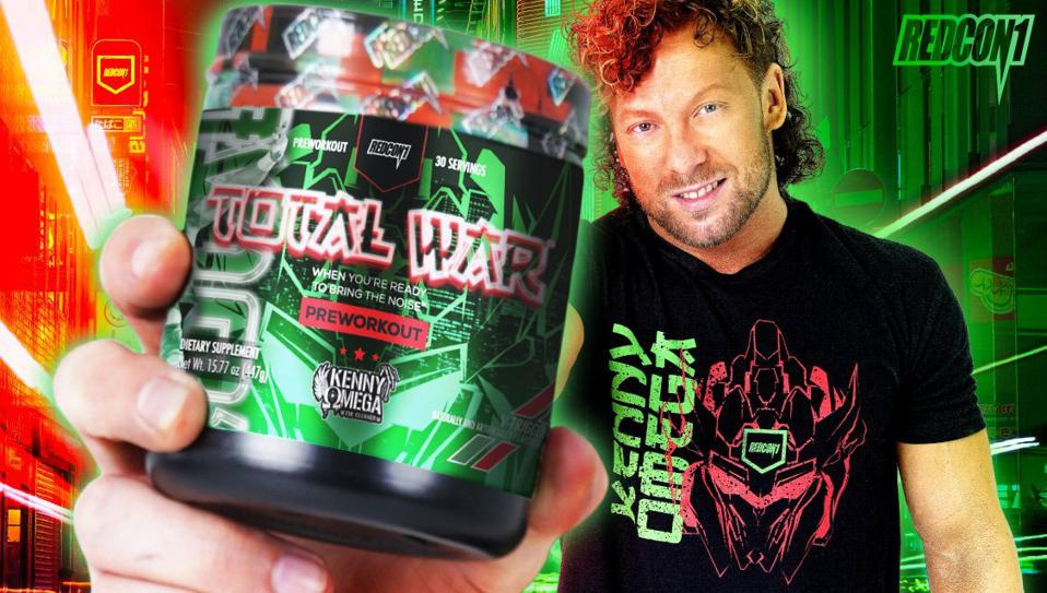 Kenny Omega launched a new partnership with REDCON1.