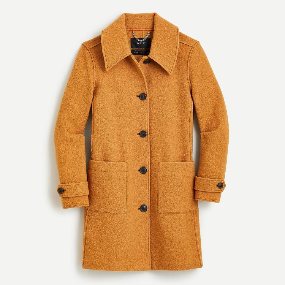 Lady Coat in Italian Boiled Wool