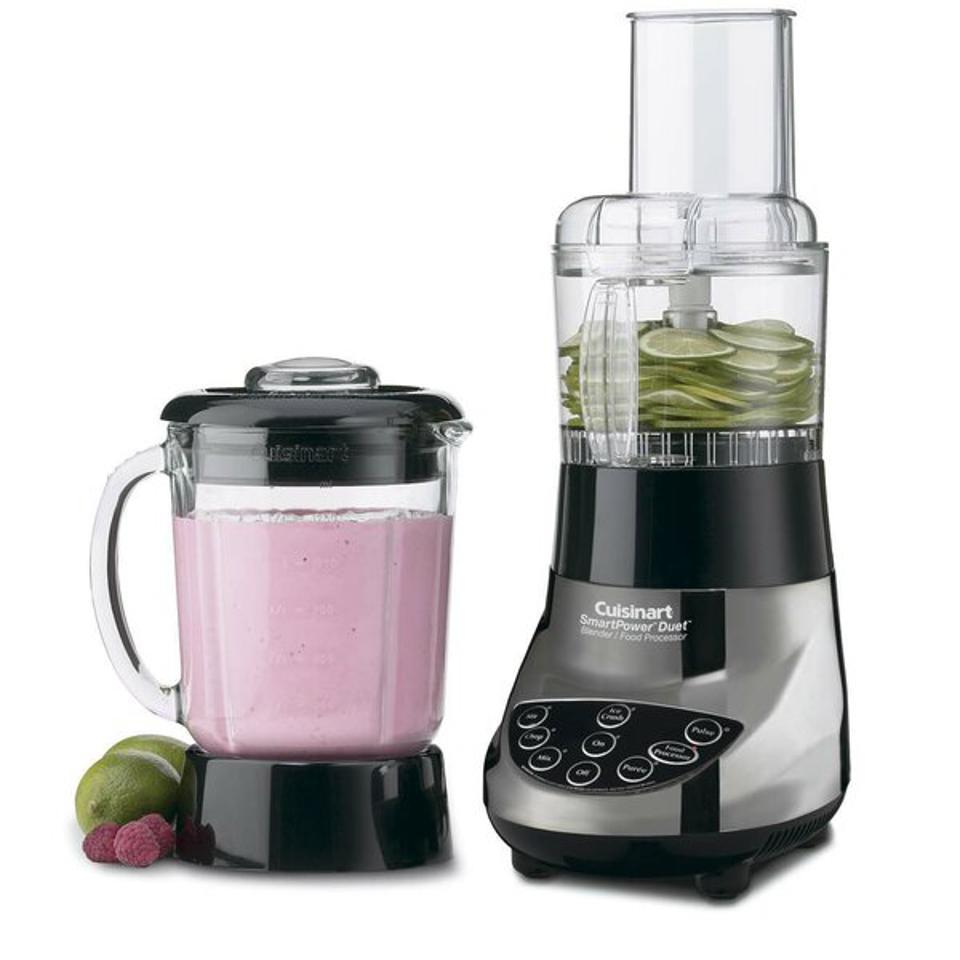 Cuisinart SmartPower Duet 500 Watt Blender/Food Processor