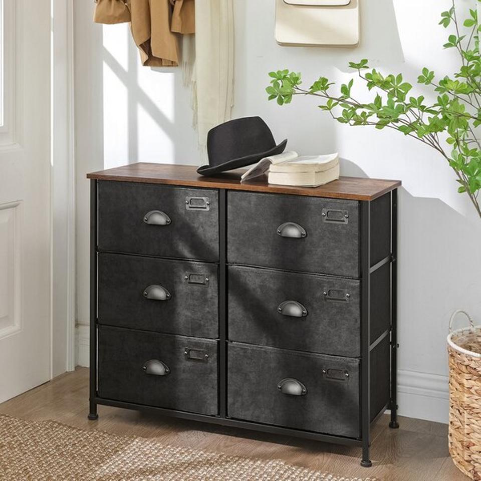 Long Ashton 6 Drawer Dresser