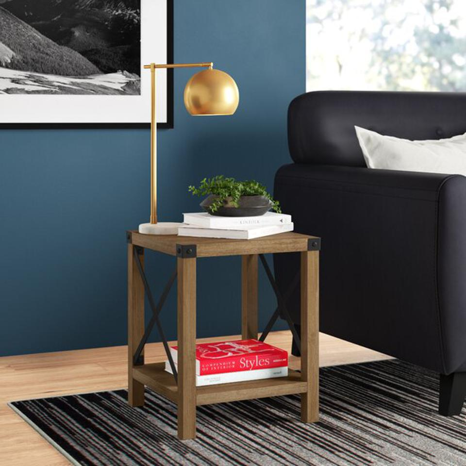 Arsenault End Table with Storage