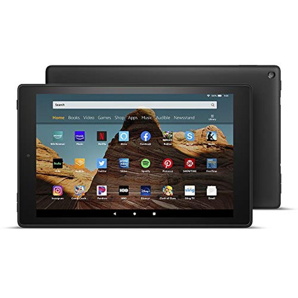 Fire HD 10 Tablet (10.1″ 1080p full HD display, 32 GB)