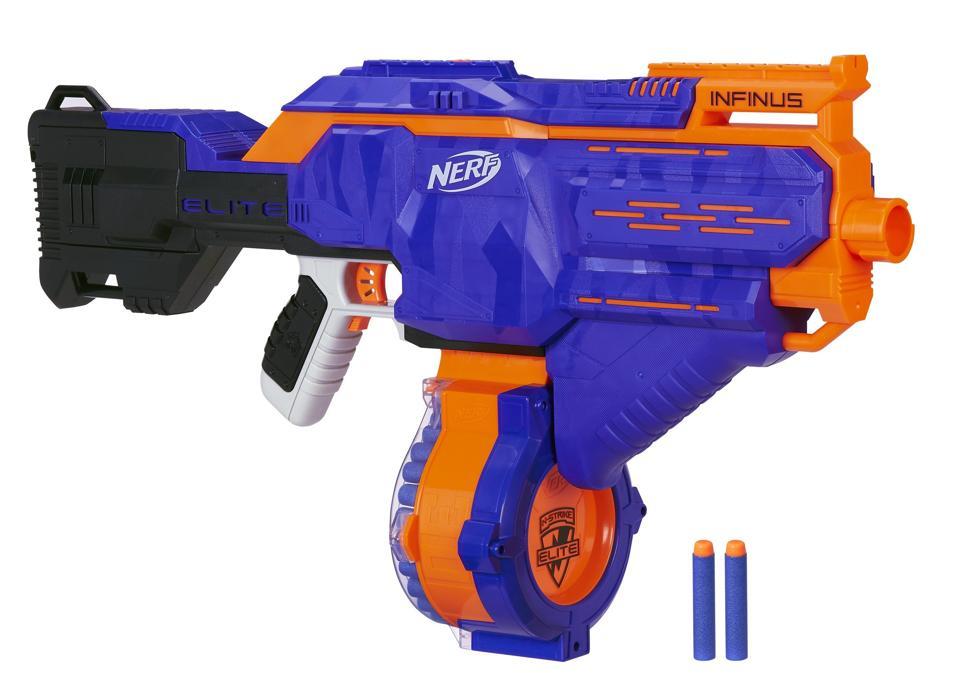 Nerf N-strike Elite Infinus with Speed-Load Tech