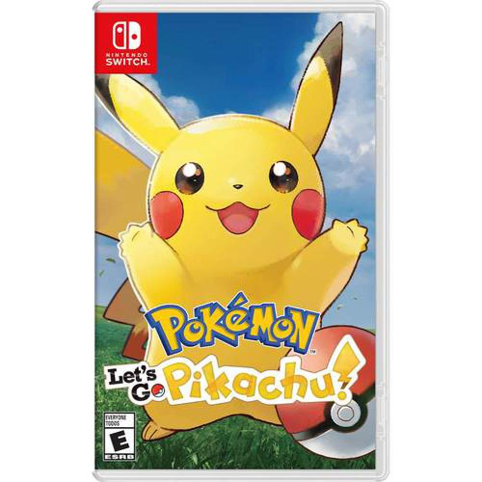 Pokémon Let's Go Pikachu for Nintendo Switch retail box art