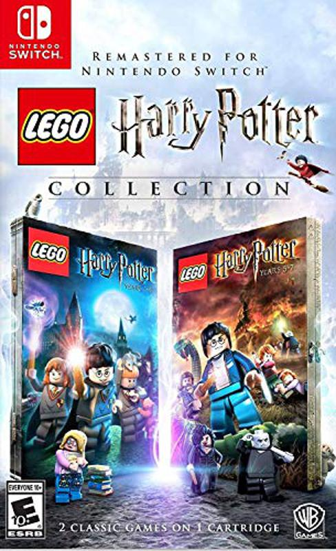 LEGO Harry Potter Collection for Nintendo Switch retail box art