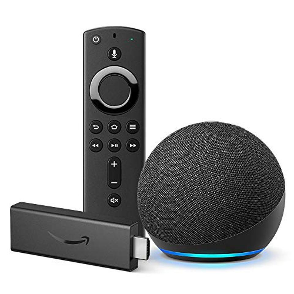 Amazon Fire Stick and Echo Dot Bundle