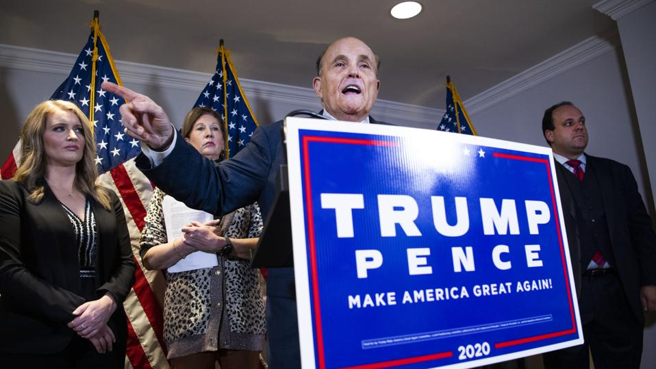 RNC Trump Presser with Giuliani