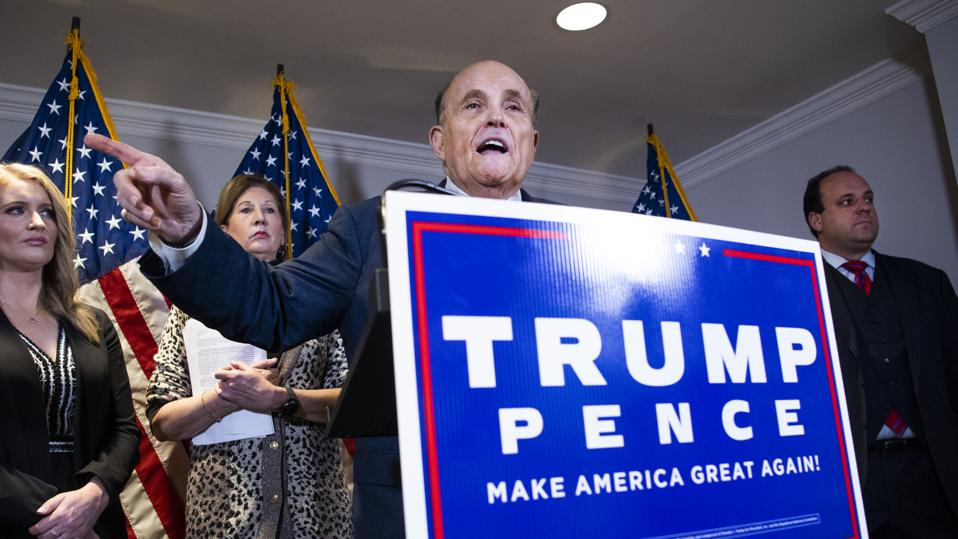 RNC Trump Presser with Rudy Giuliani