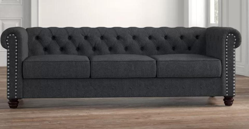 Provence 87″ Rolled Arm Sofa
