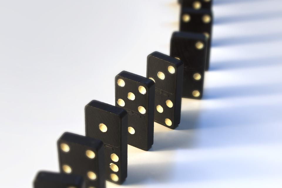 A Row Of Dominoes