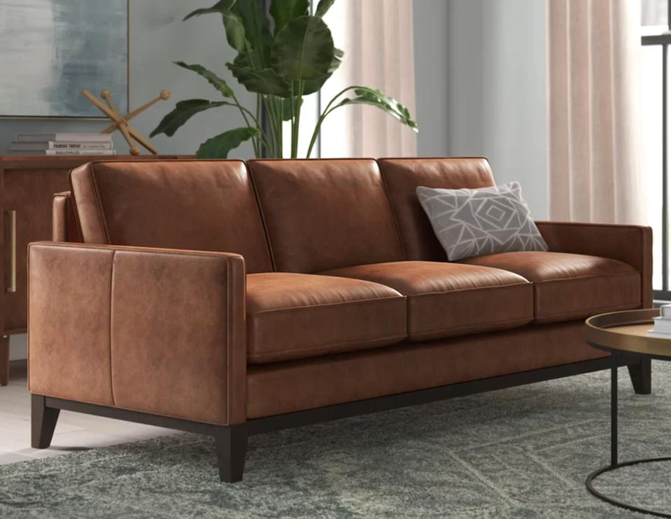 Jaylin Leather Sofa