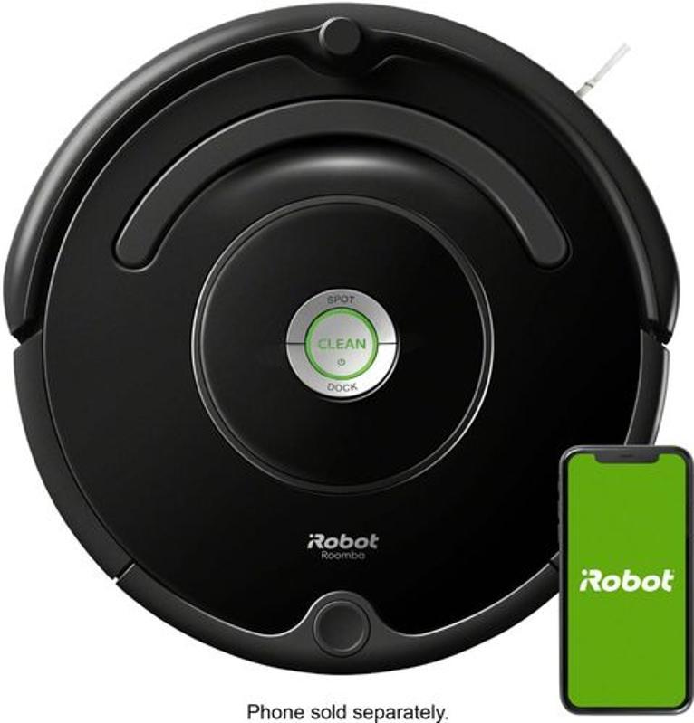 iRobot Roomba 675 Wi-Fi Connected Robot Vacuum