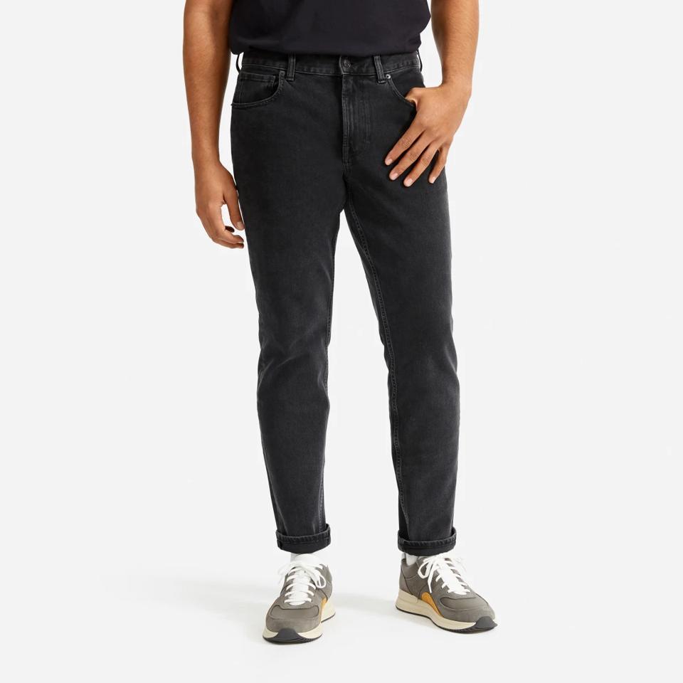 everlane black jeans.