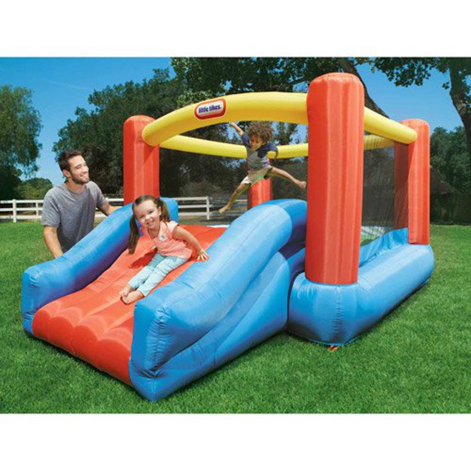 Little Tikes Jr. Jump N Slide Inflatable Bounce House