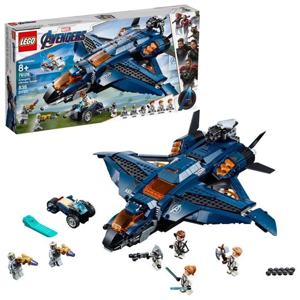 LEGO Marvel Avengers Ultimate Quinjet 76126 Superhero Jet Toy