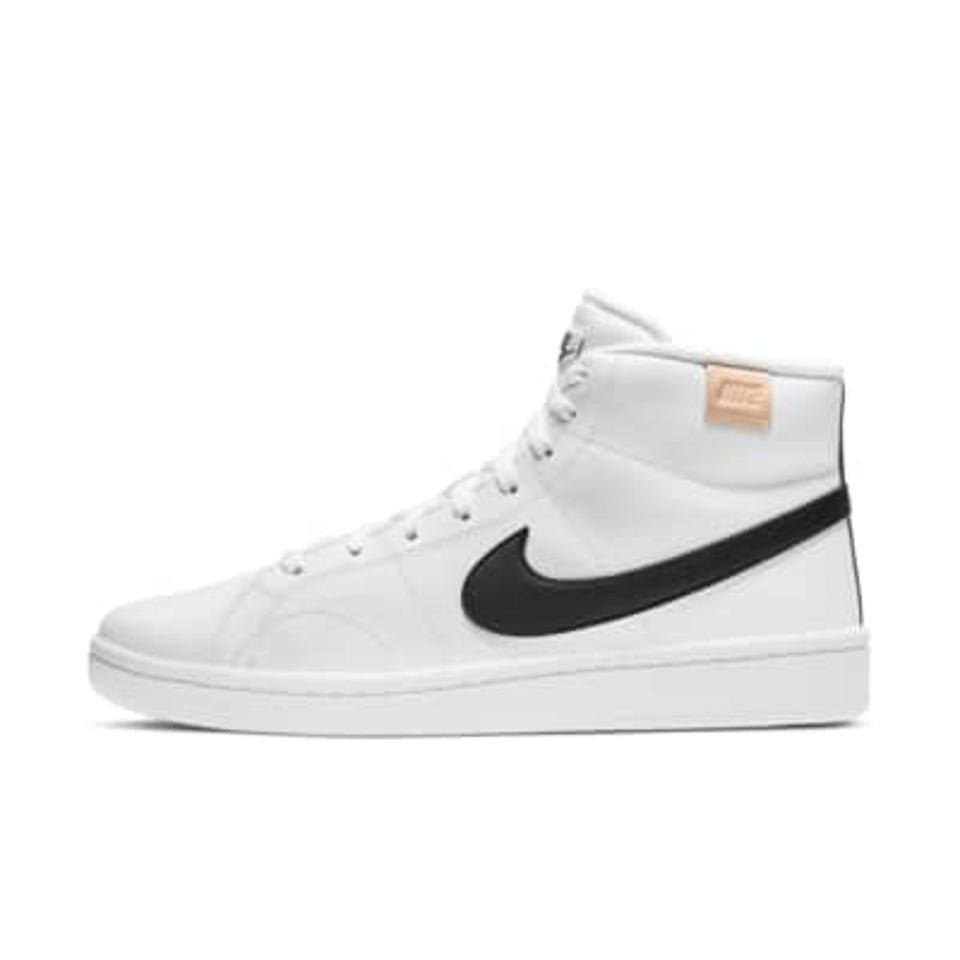 Nike Court Royale 2 Mid Men's Shoe in white and black.