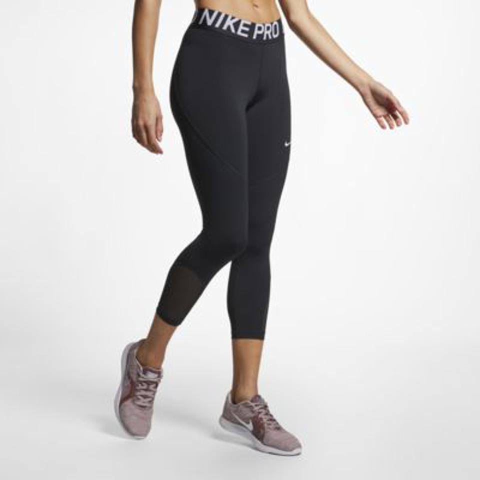 Nike black training tights.