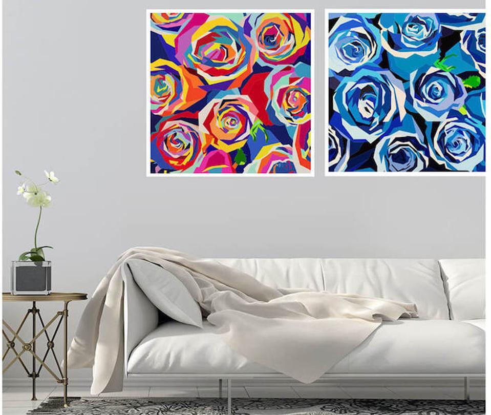 elizabeth sutton fine art rose prints