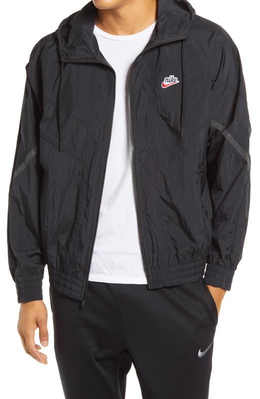 Nike windbreaker jacket.
